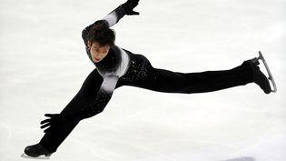 L'ancien patineurAlban Préaubert, président de la commission sportive nationale de patinage artistique, a présenté sa démission,avec trois autres membres. (YURI KADOBNOV / AFP)