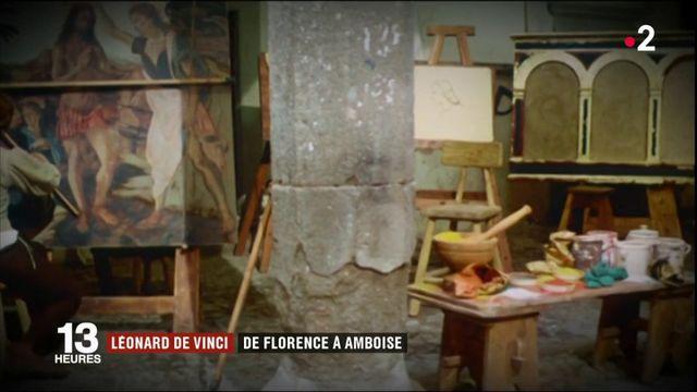 Léonard de Vinci : de Florence à Amboise (2/5)