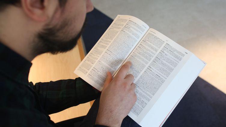 Illustration du dictionnaire le Petit Robert. (LP/ MATTHIEU DE MARTIGNAC / MAXPPP)