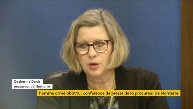 Homme abattu à La Défense : la conférence de presse de la procureure de Nanterre