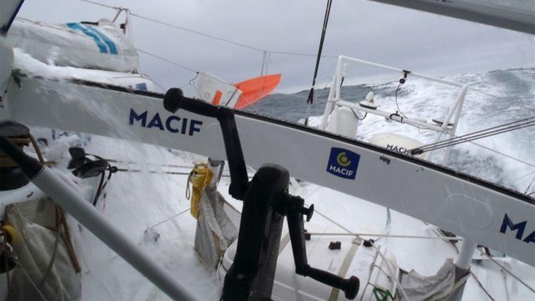 A bord de Macif