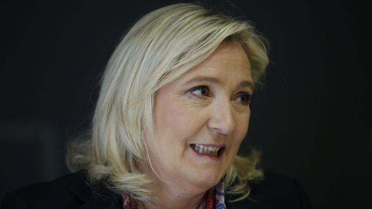 (Après avoir refusé plusieurs fois ces auditions, Marine Le Pen a été entendue comme témoin assistée ce mardi matin © MaxPPP)
