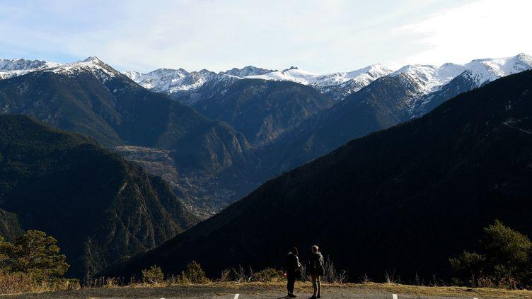 Les sommets des Pyrénées près de La Massana (Andorre), le 25 décembre 2018. (CHINE NOUVELLE / SIPA / XINHUA)