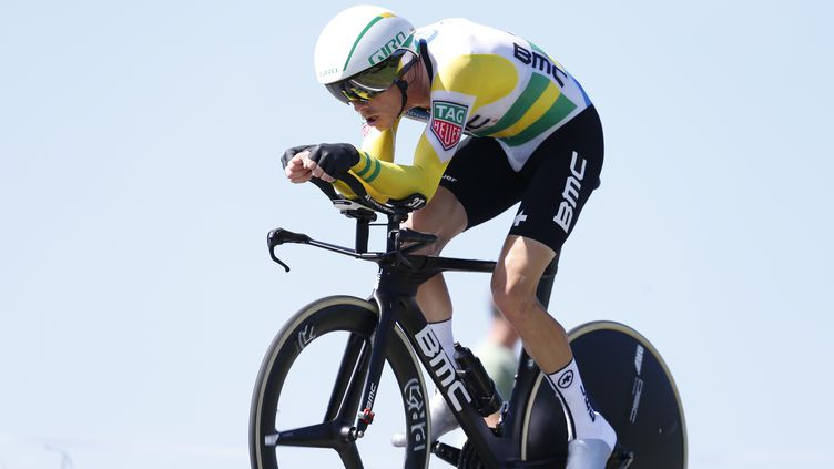 Rohan Dennis, vainqueur de la 16e étape de la Vuelta (YUZURU SUNADA / BELGA MAG)