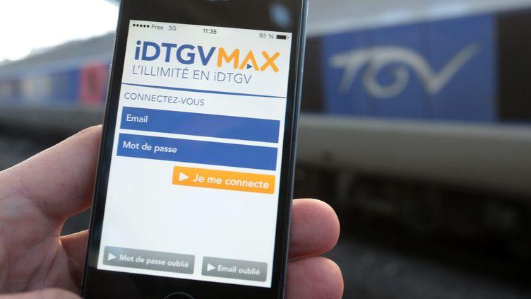 L'abonnement IDTGV Max prendra fin en avril 2017. (MAXPPP)