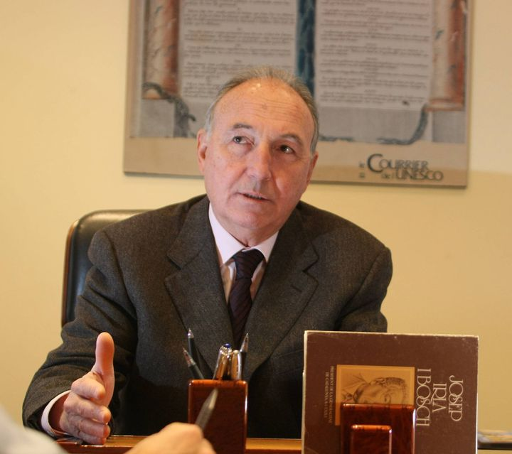 Le député-maire UMP de Saint-Raphaël, Georges Ginesta, le 4 janvier 2011. (  MAXPPP)