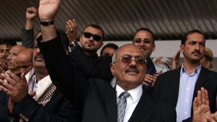 Ali Abdallah Saleh est président du Yémen depuis 1978. (AFP - Mohammed Huwais)