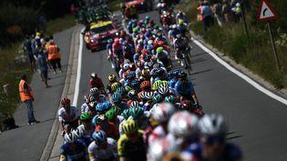 La première étape du Tour de France en Belgique le 6 juillet 2019. (JEFF PACHOUD / AFP)