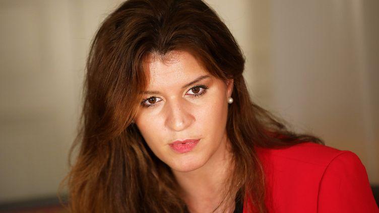 Marlène Schiappa estla secrétaire d'État chargée de l'Égalité entre les femmes et les hommes et de la Lutte contre les discriminations. (YANN FOREIX / MAXPPP)