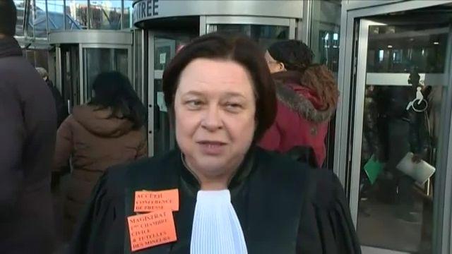 """VIDEO. """"L'appel de Bobigny"""" : magistrats et avocats de Seine-Saint-Denis dénoncent les conditions de travail dans leur tribunal"""