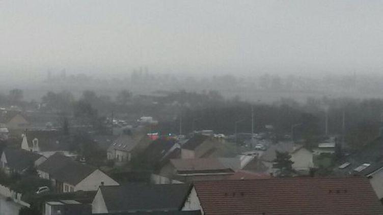 La ville de Dammartin-en-Goële (Seine-et-Marne), le 9 janvier 2015. (FABIEN MAGNENOU / FRANCETV INFO)