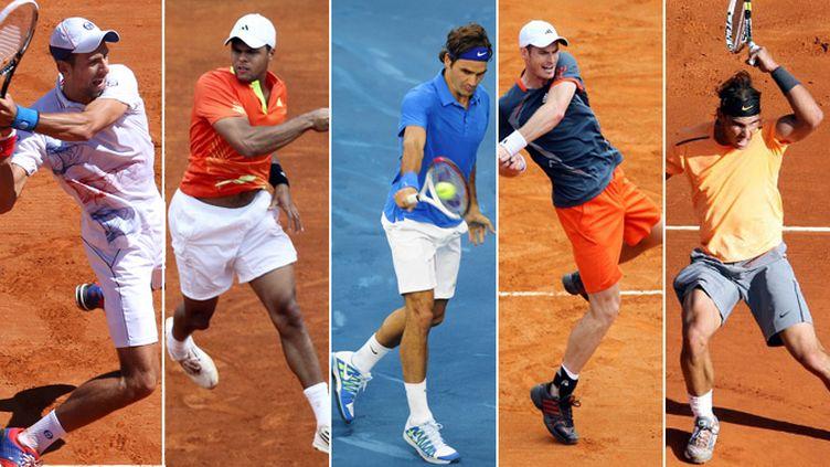 Le top 5 mondial de l'ATP