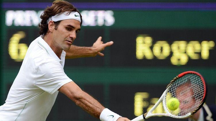 Roger Federer et son majestueux revers