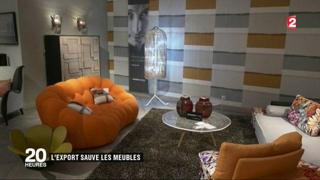 France : l'export sauve les meubles