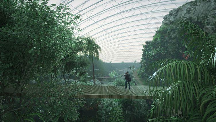 Le projet de serre tropicale Tropicalia, dans le Pas-de-Calais. (TROPICALIA.ORG)