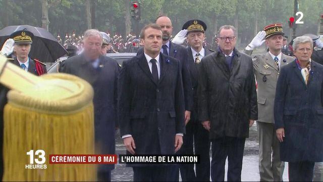 Cérémonie du 8-Mai : l'hommage de la nation