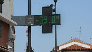 La température est localement montée jusqu'à 40 degrès (MICHEL LABONNE / MAXPPP)