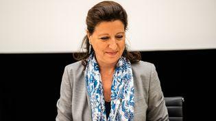 L'ancienne ministre de la Santé Agnès Buzyn, mardi 30 juin 2020 à l'Assemblée nationale. (XOSE BOUZAS / HANS LUCAS / AFP)