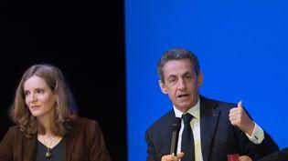 Nathalie Kosciusko-Morizet et Nicolas Sarkozy, le 7 novembre 2015 à Paris. (WITT / SIPA)