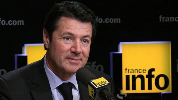 (Christian Estrosi, maire Les Républicains de Nice demande à l'Europe des mesures de fermeté sur le dossier des migrants © Radio France)