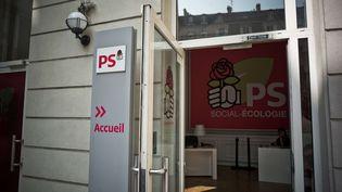 Le siège du Parti socialiste, rue de Solférino à Paris, le 27 août 2017. (NICOLAS MESSYASZ / SIPA)