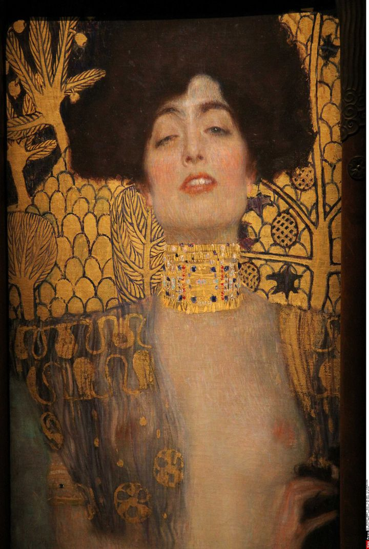 """Judith et Holopherne"" Klimt (1901)  (GINIES/SIPA)"