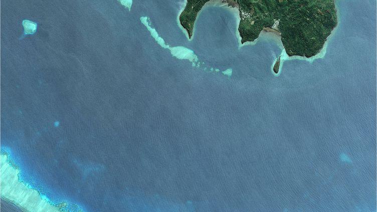 La barrière de corail à Mayotte. (GETTY IMAGES)