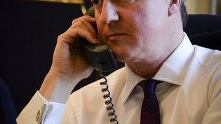 Photo du Premier ministre britannique, David Cameron, diffusée le 5 mars 2014 sur Twitter. (@DAVID_CAMERON)