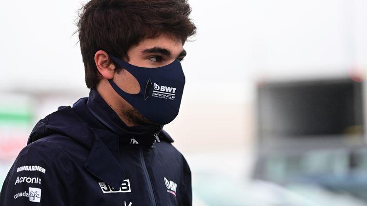 Guéri de la Covid-19, Lance Stroll sera bien au départ du Grand Prix du Portugal ce week-end (INA FASSBENDER / AFP)