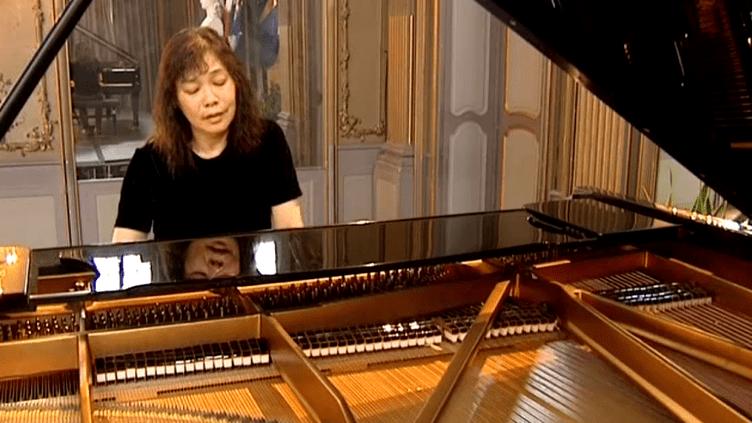 La pianiste américiane d'origine taïwanaise, Amy Lin.  (France 3)
