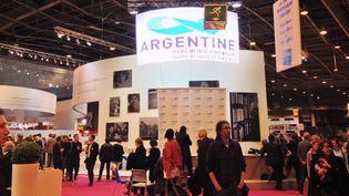 Le pavillon de l'Argentine au Salon du Livre 2014.  (Culturebox)