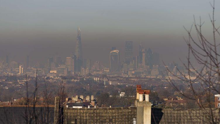 Londres sous un nuage de pollution, le 30 novembre 2016. (SIPA USA)