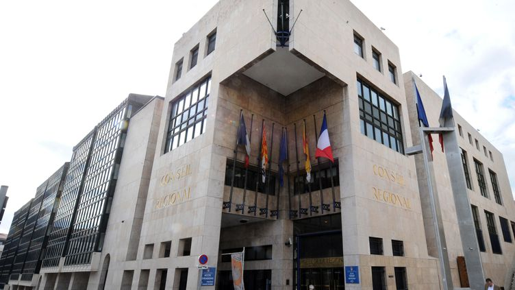 Le Conseil régionale de Provence-Alpes-Côte d'Azur, à Marseille (Bouches-du-Rhône), le 4 février 2010. (MICHEL GANGNE / AFP)