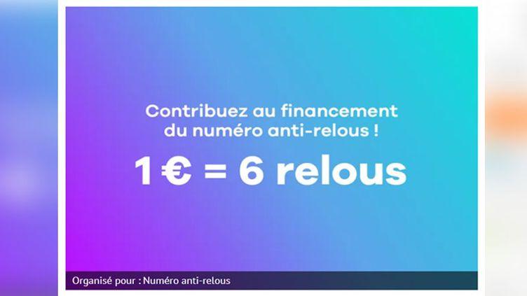 """Lescréateurs du numéro """"anti-relous"""" ont lancé une cagnotte sur Internet afin de pouvoir financer le numéro pendant au moins un an. (FRANCEINFO / RADIO FRANCE)"""