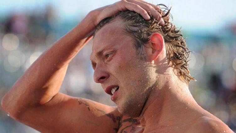 Le nageur français Amaury Leveaux