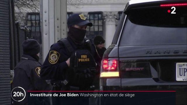 États-Unis : Washington en état de siège avant l'investiture de Joe Biden