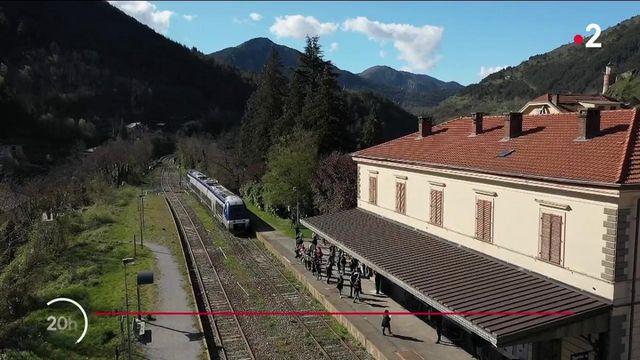 Vallée de la Roya : le train des Merveilles entre Nice et Tende revient après sept mois d'absence