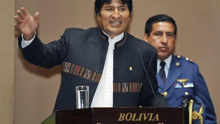 Le président bolivien, Evo Morales, mars 2010 (AFP Aizar Raldes)