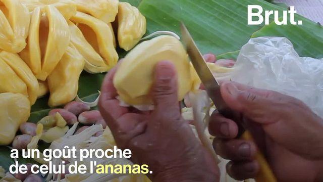 Le fruit du jacquier est de plus en plus utilisé pour remplacer le poulet et le porc dans les produits végétariens.