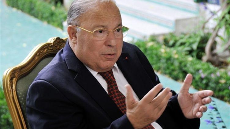 Le recteur de la Grande mosquée de Paris, Dalil Boubakeur, lance un appel pour libérer les deux otages français. (AFP - Aurore Marechal)