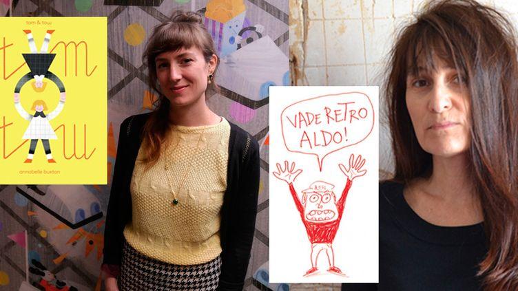 Claudine Desmarteau et Annabelle Buxton