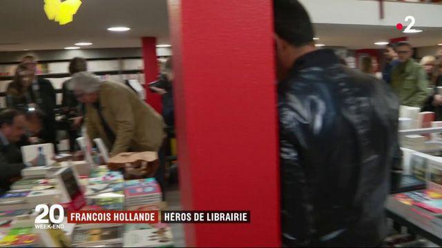 François Hollande : succès de librairie et regain de popularité