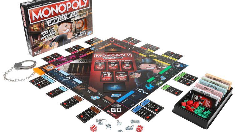 """Dans l'édition """"spéciale tricheurs"""" du Monopoly, la prison est dotée de menottes. (HASBRO)"""
