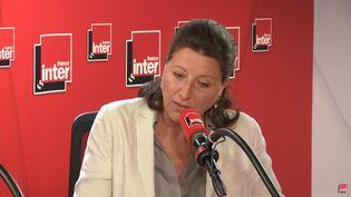 Agnès Buzyn invitée de France Inter mardi 4 juin 2019. (FRANCEINTER)