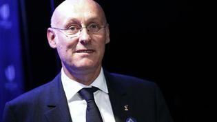Le président de la Fédération française de rugby, Bernard Laporte. (BENJAMIN CREMEL / AFP)