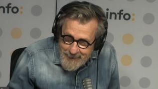 L'animateur Jamy Gourmaud invité de franceinfo le 6 octobre 2021 (FRANCEINFO / RADIO FRANCE)