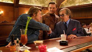 "Brad Pitt, Leonardo Di Caprio et Al Pacinodans ""Once Upon a Time... in Hollywood"" réalisé par Quentin Tarantino. (ANDREW COOPER / SONY PICTURES)"