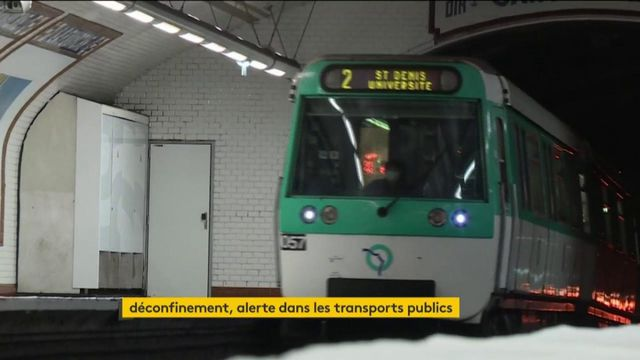 Coronavirus : la complexité du déconfinement dans les transports publics