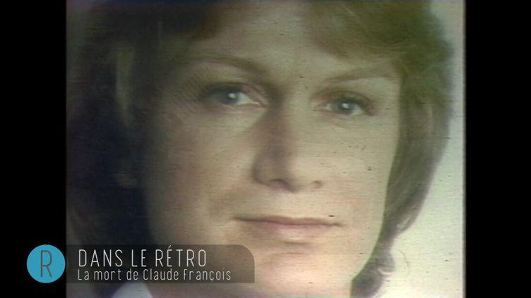 Dans le Rétro : mort de Claude François (CAPTURE ECRAN / FRANCEINFO)