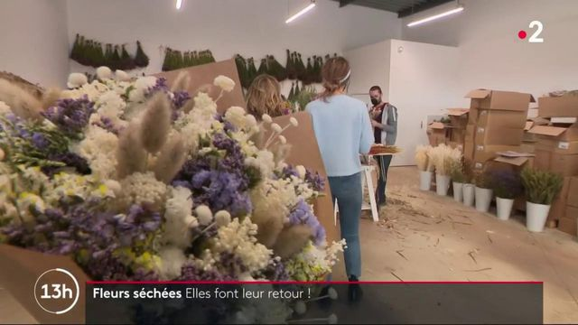 Tendance :les fleurs séchées reviennent à la mode